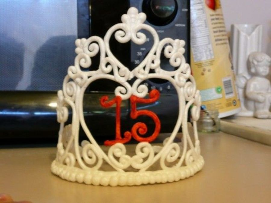 Tiara For Quinceanera on Cake Central