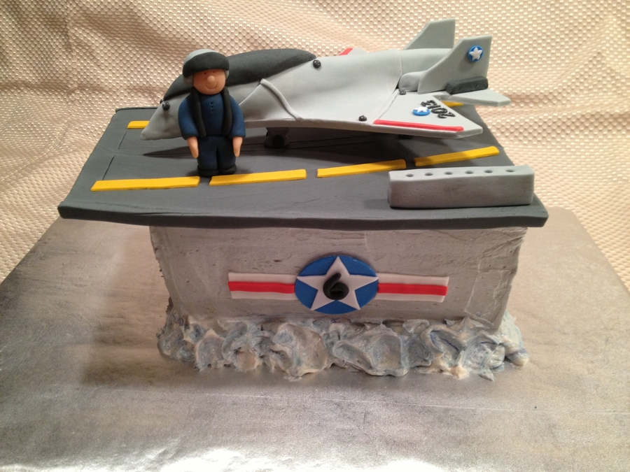 Fighter Jet Cake on Cake Central