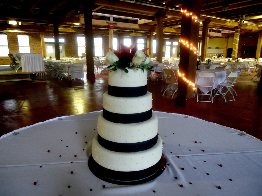 Simple Wedding on Cake Central