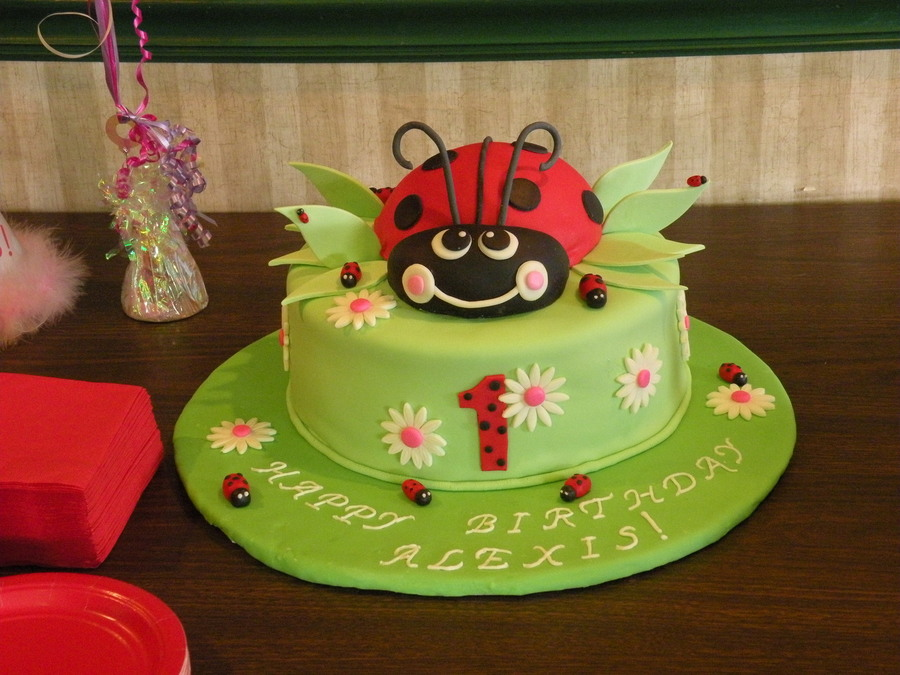 Ladybug on Cake Central