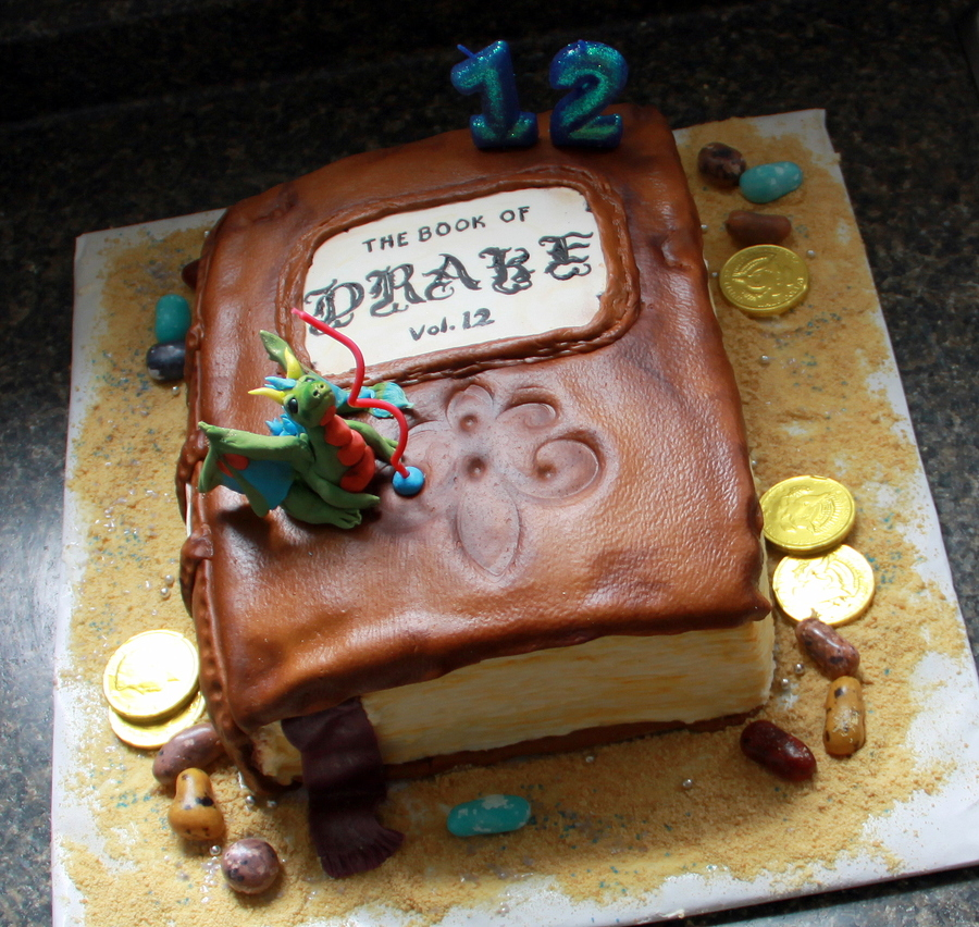 Cool Drakes 12Th Birthday Cake Book Dragon Cake Cakecentral Com Funny Birthday Cards Online Inifofree Goldxyz
