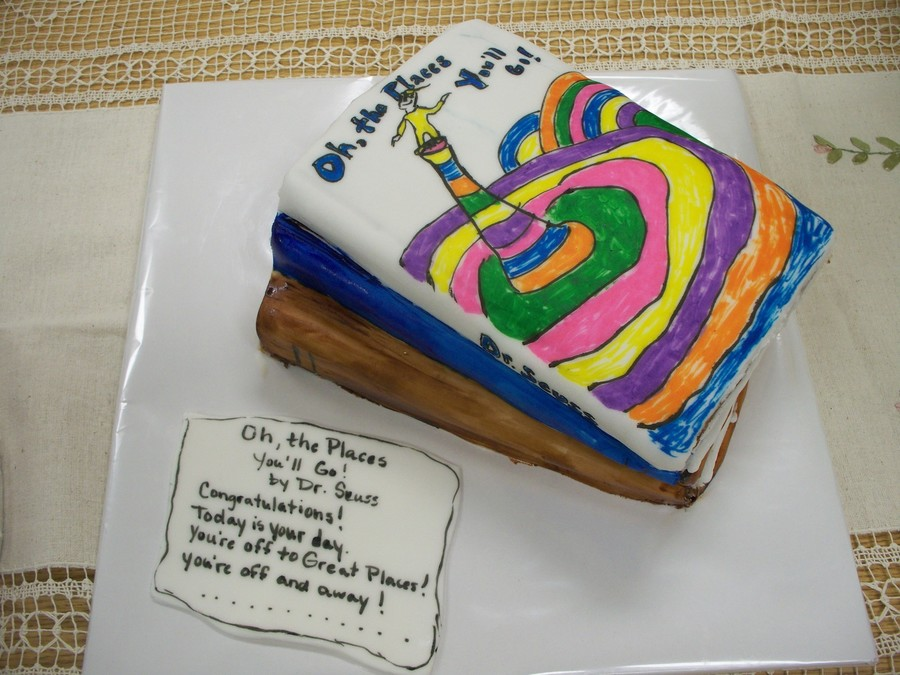 Librarian Retirement Cake on Cake Central