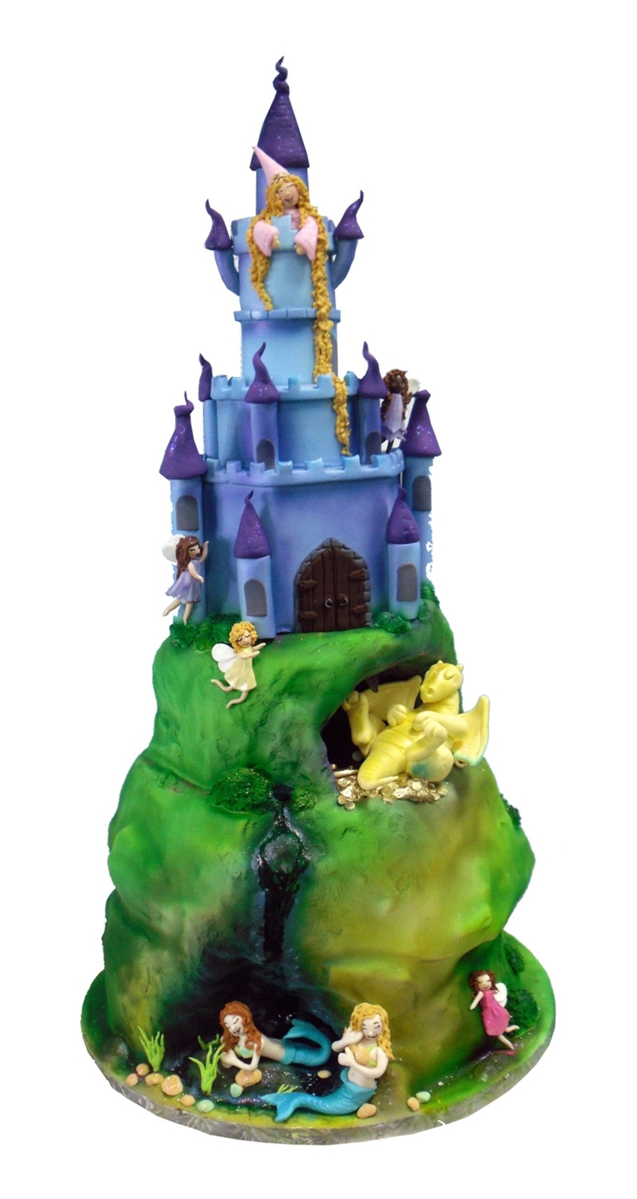 Fairyland Hill Top Cake With Dragon on Cake Central