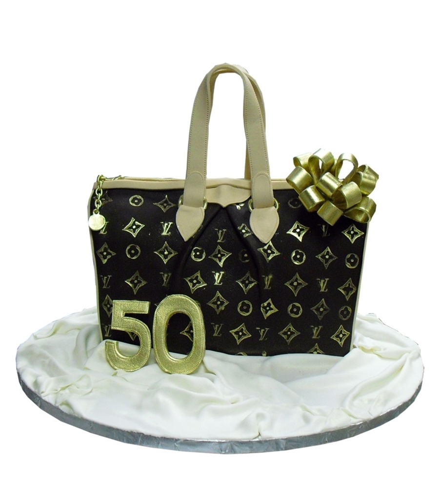 Louis Vuitton Purse Cake on Cake Central