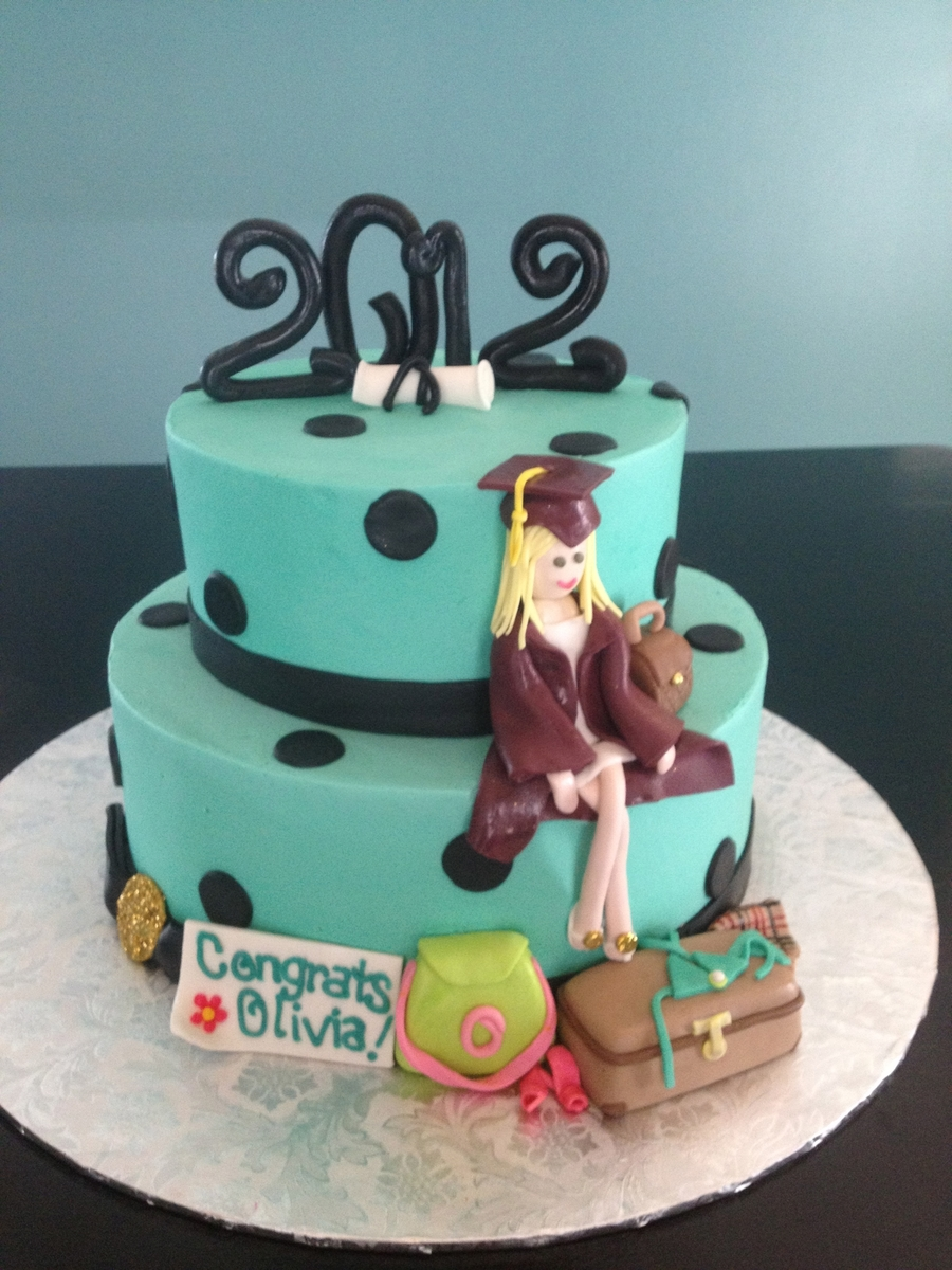Graduation Cake For Fashionista on Cake Central