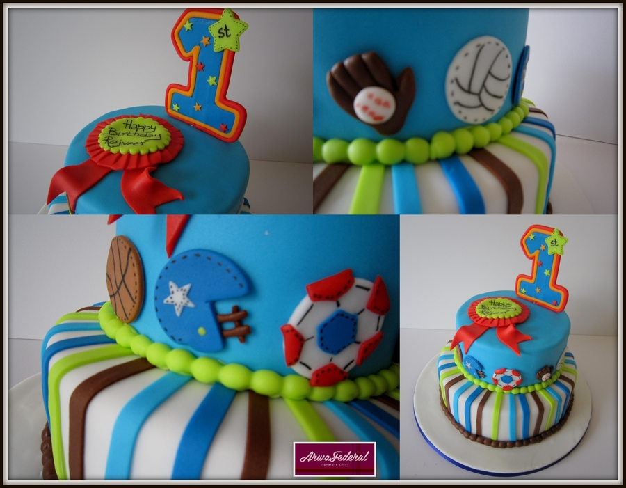 Sports Themed on Cake Central