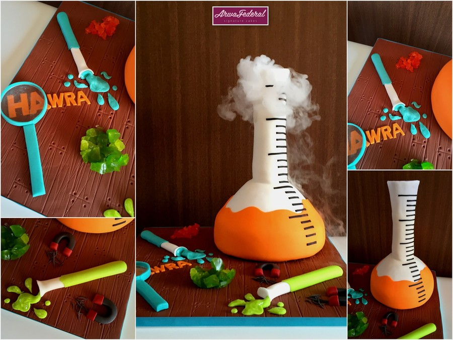 Mad Science on Cake Central