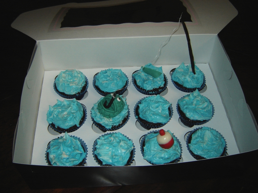 Fishing Cupcakes on Cake Central
