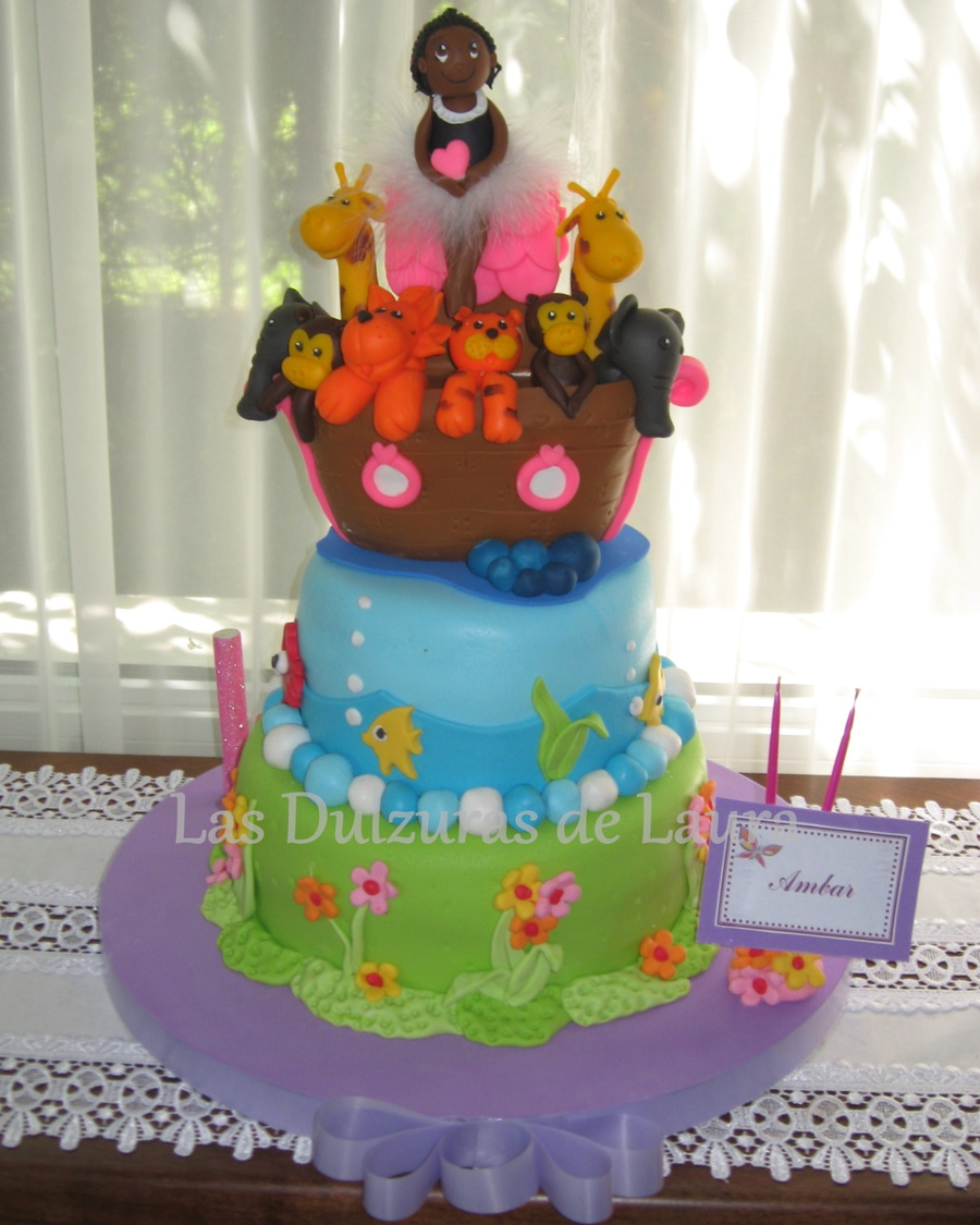 Ark For Ambar on Cake Central