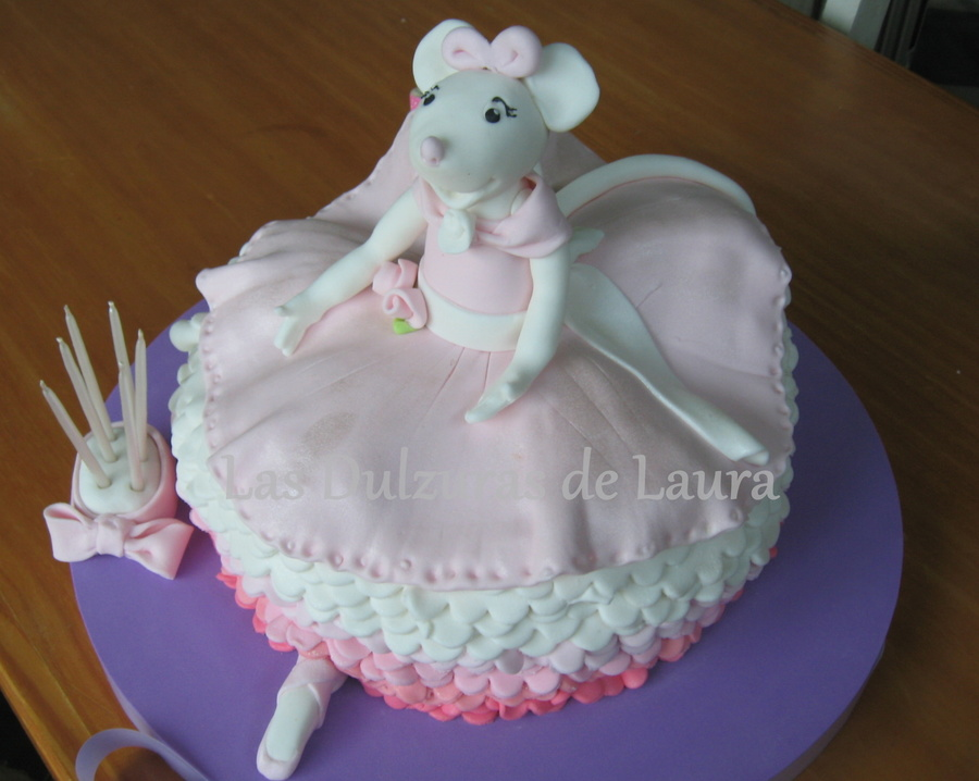 Angelina Ballerina - Debbie Brown Ballerina's Version  on Cake Central