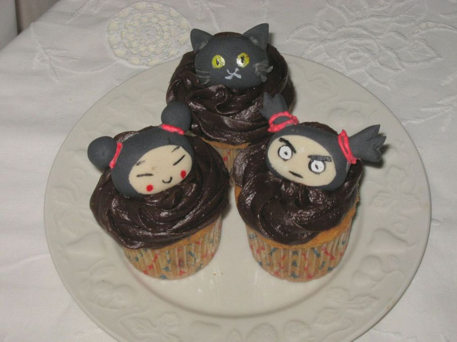 Cupcakes - Pucca & Co on Cake Central