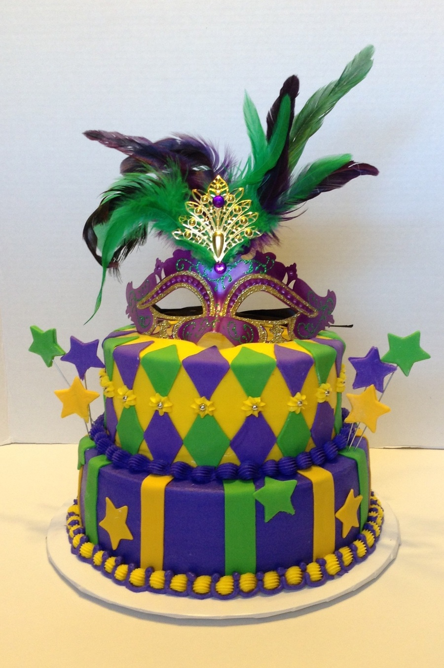 Excellent Mardi Gras Birthday Cakecentral Com Funny Birthday Cards Online Alyptdamsfinfo