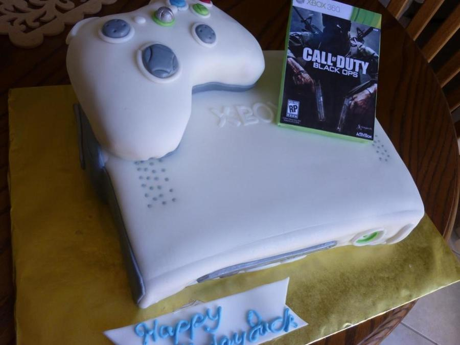 Xbox 360 Cake on Cake Central