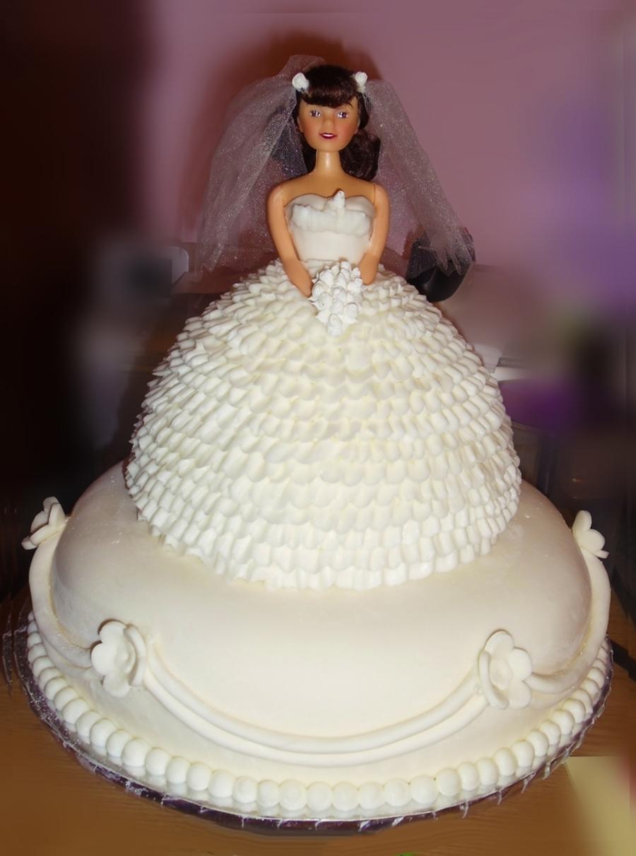 barbie wedding shower on cake central