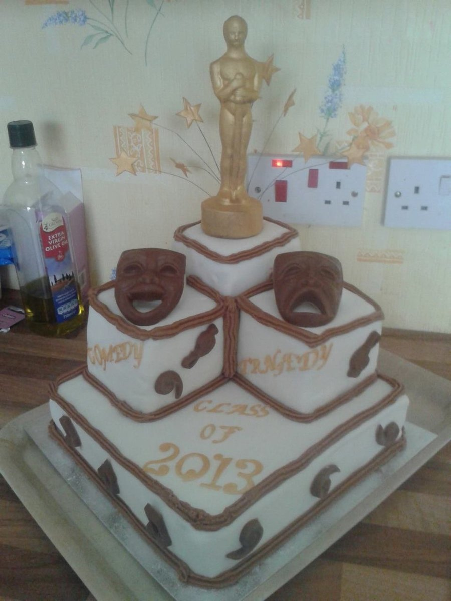 Theatre Drama Oscar  on Cake Central