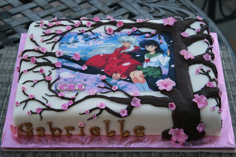 Inuyasha Japanese Anime Cake on Cake Central