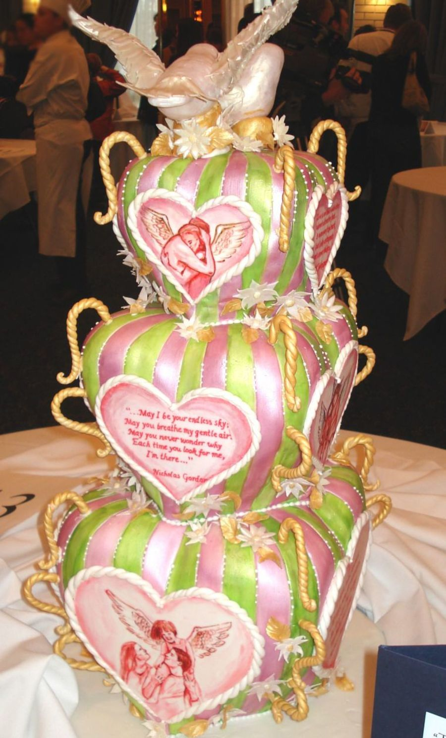 Love Cake For Contest  on Cake Central