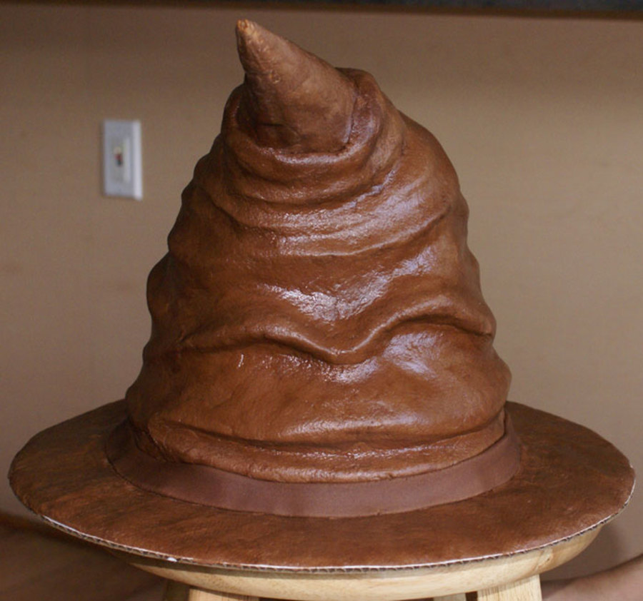 Sorting Hat Cake Images