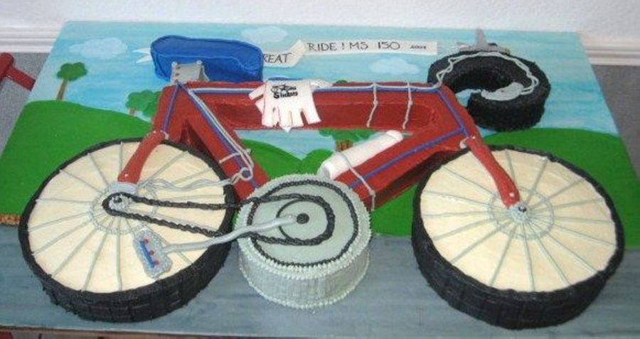 Bicycle on Cake Central