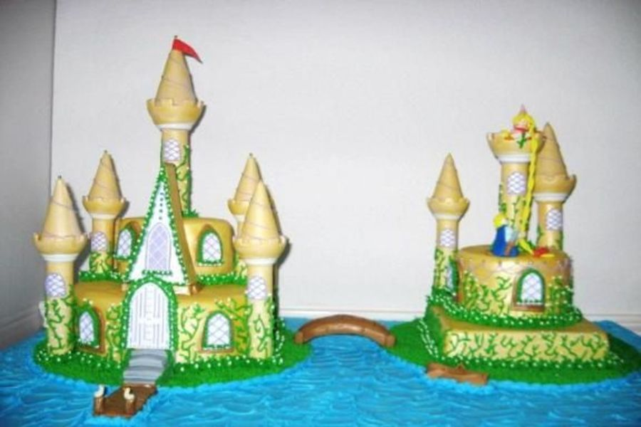 Rapunzel's Romantic Rescue on Cake Central