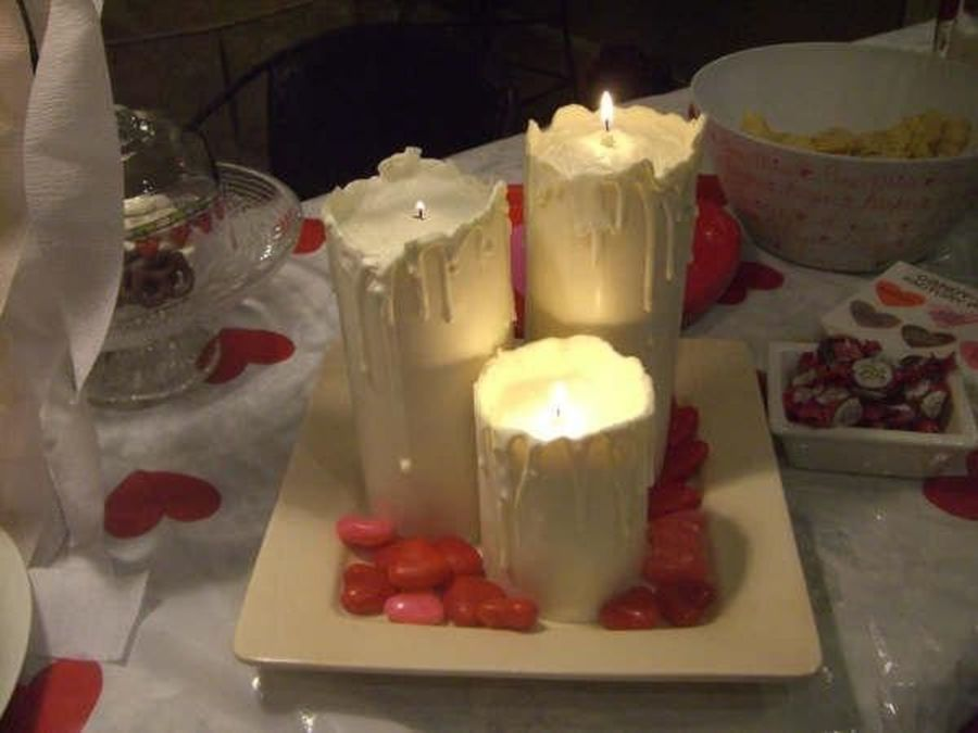Romantic Candle-Lit...dessert? on Cake Central