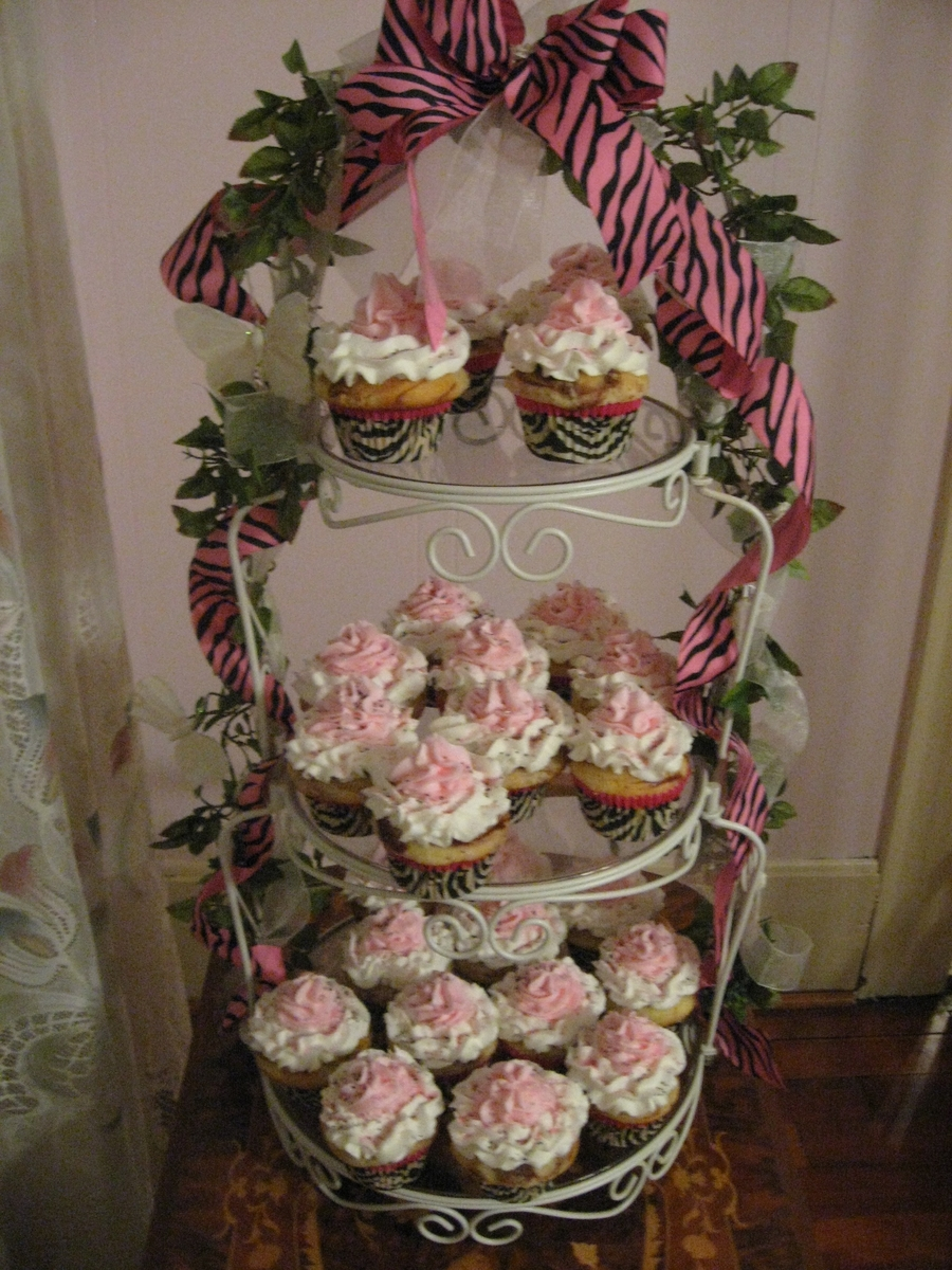 Pink Zebra Cupcakes on Cake Central
