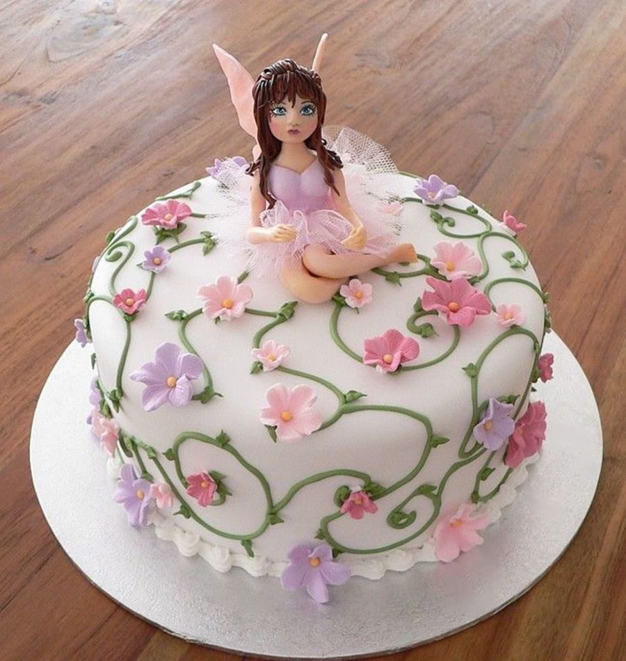 Miraculous Fairy Birthday Cake Cakecentral Com Personalised Birthday Cards Sponlily Jamesorg