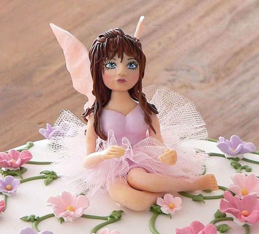 Fairy Cake Topper on Cake Central