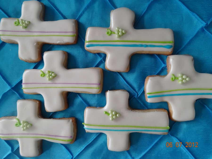 First Communion Cookies  on Cake Central