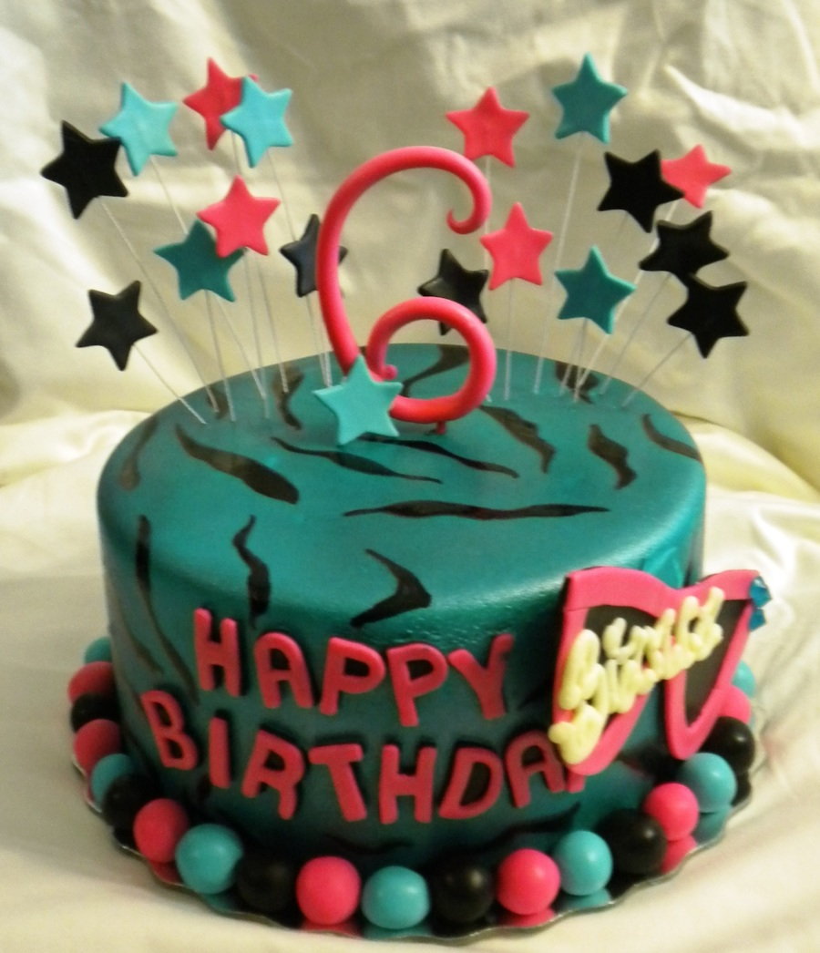 Superb 6Th Birthday Cake Cakecentral Com Funny Birthday Cards Online Alyptdamsfinfo