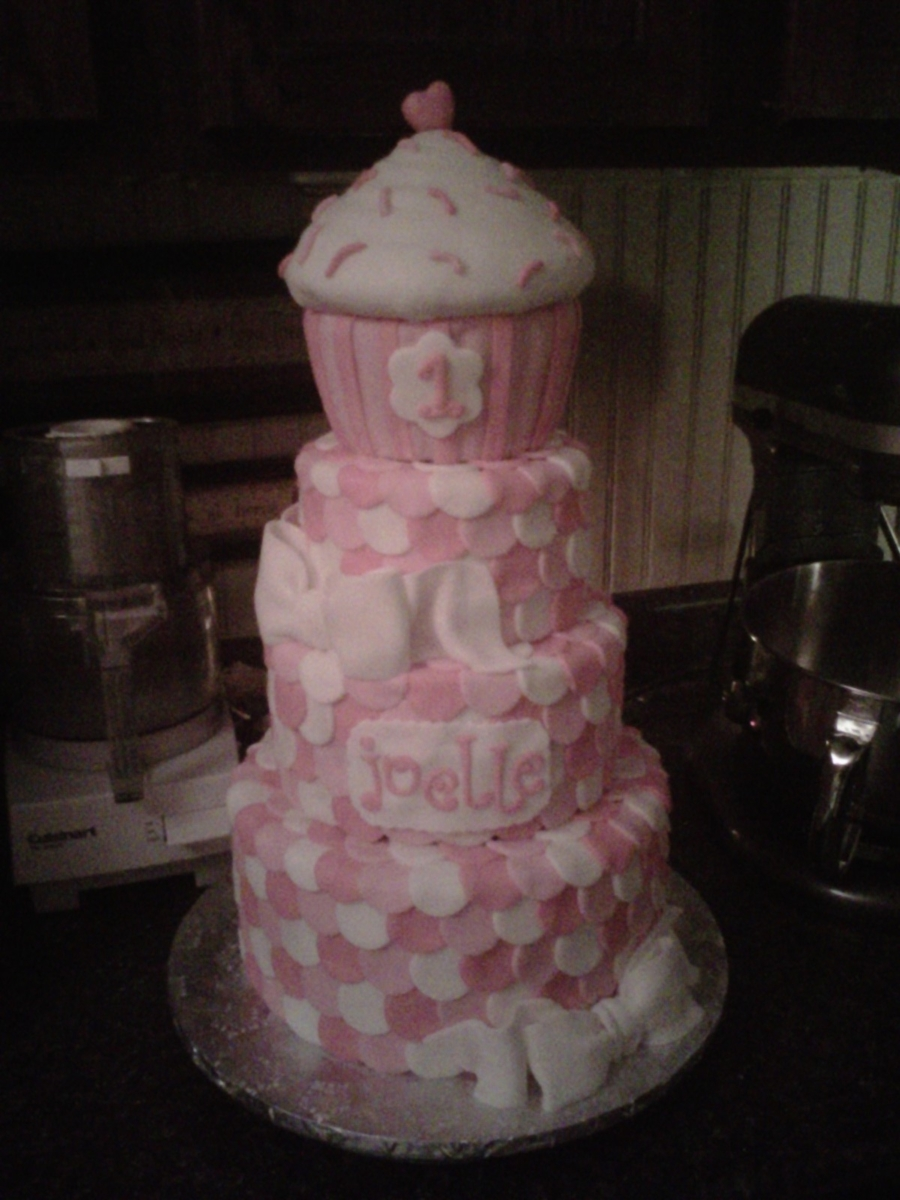 Pink Pink Pink Polka Dots on Cake Central