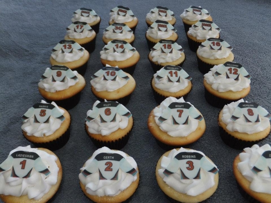 Hockey Jersey Cupcakes Cakecentral Com