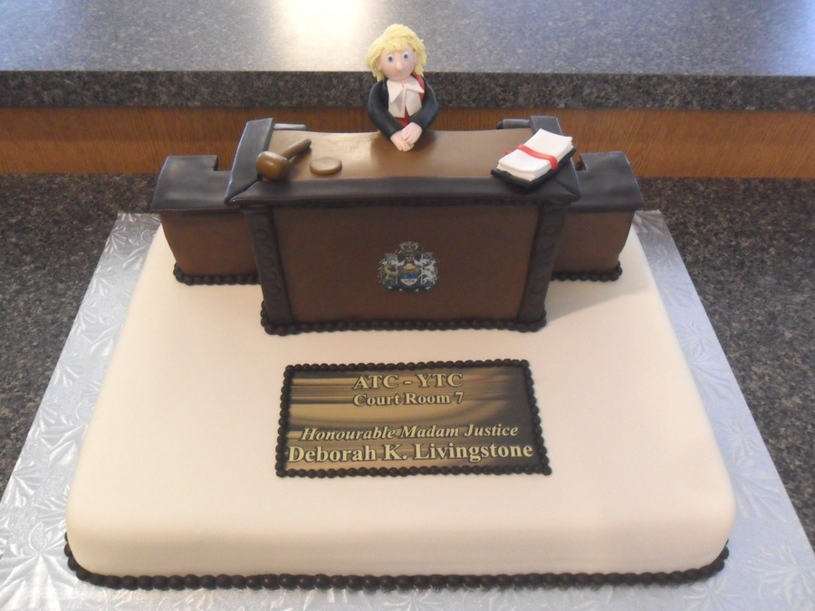 Judge S Retirement Cakecentral Com