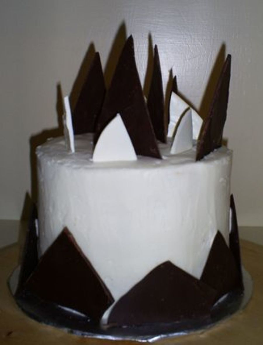 Chocolate Shard Cake on Cake Central
