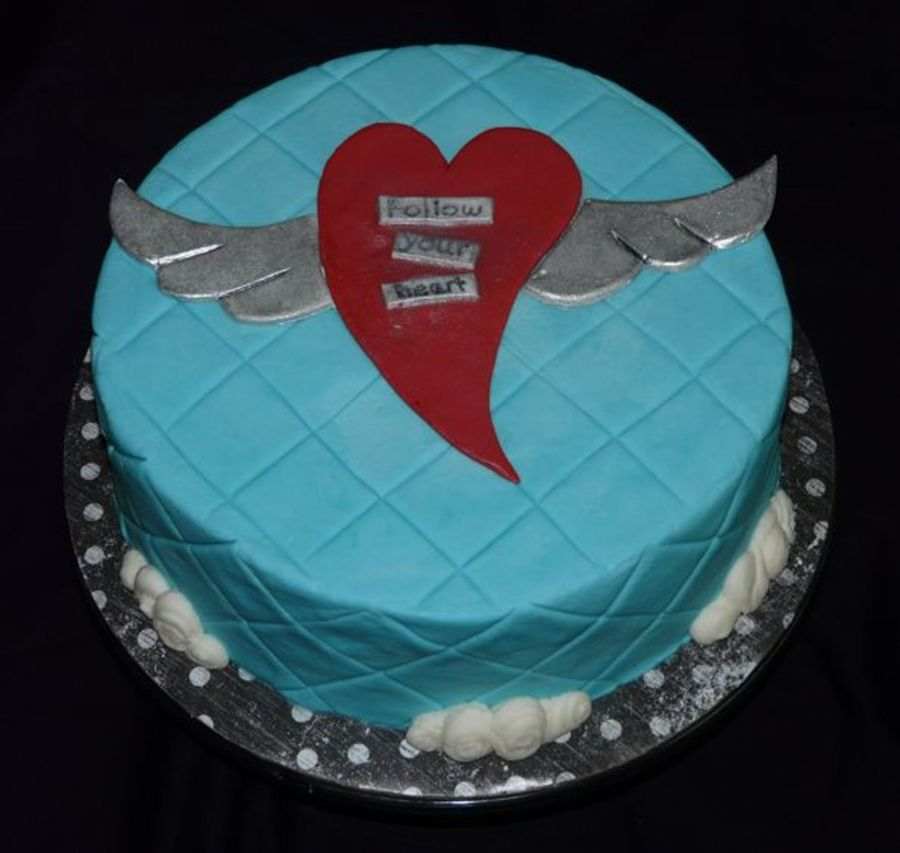 Follow Your Heart on Cake Central