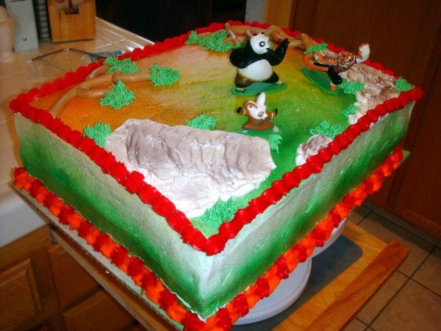 Kung Fu Panda - CakeCentral.com
