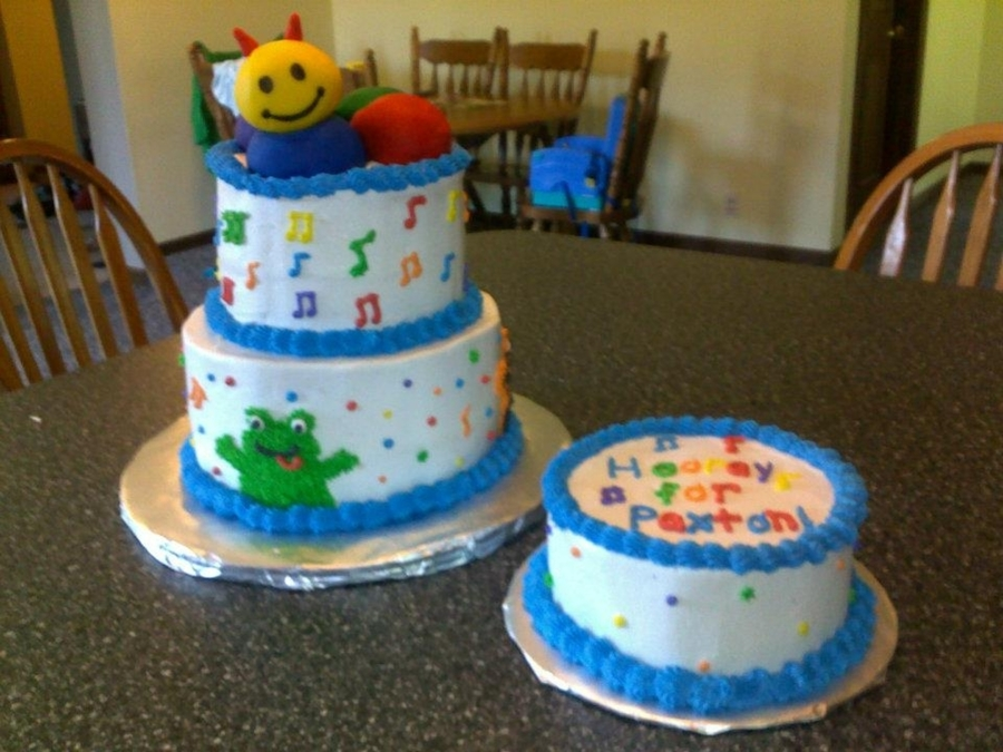 Baby Einstein Cake on Cake Central
