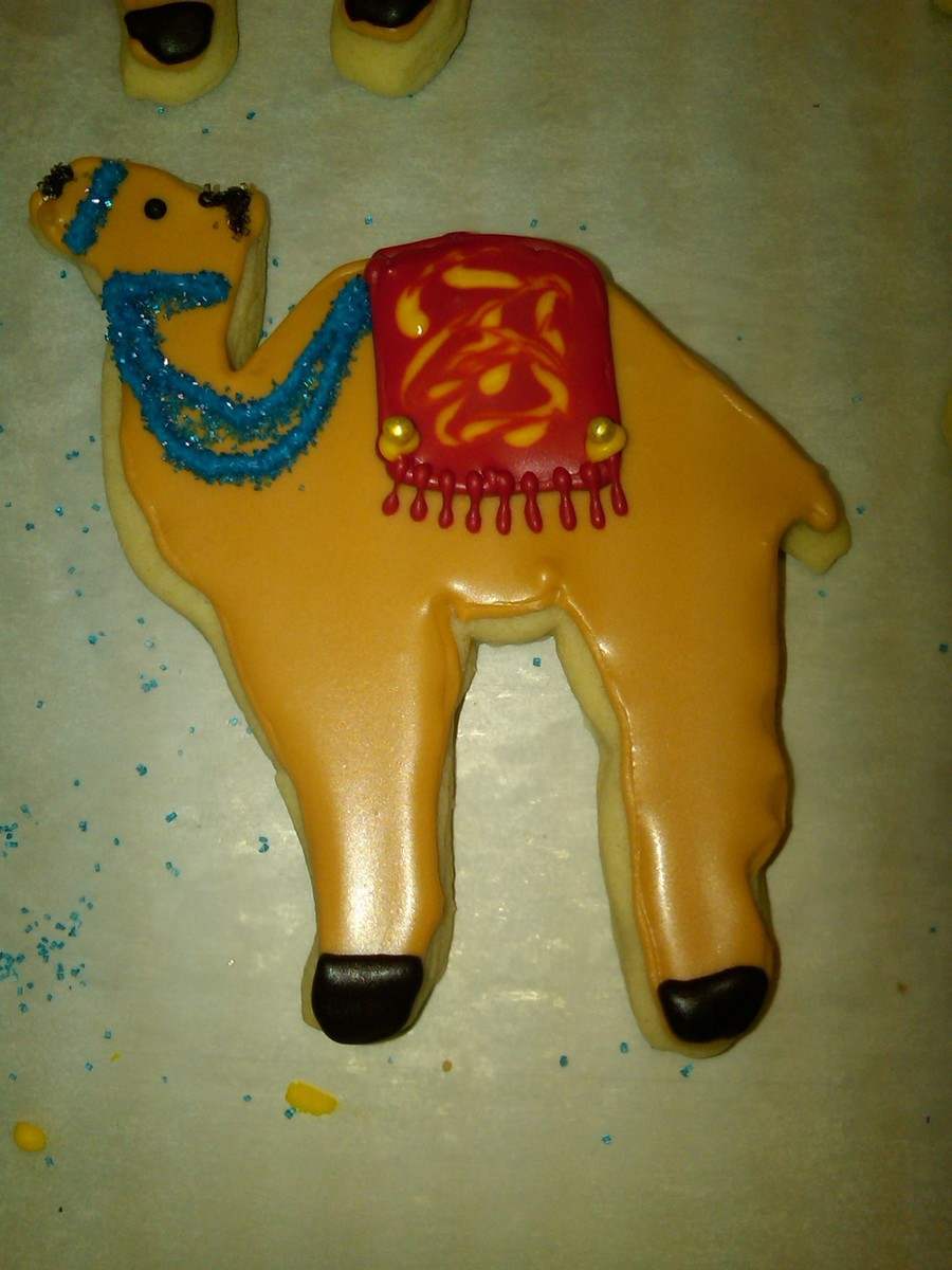 The Wisemen Camel on Cake Central