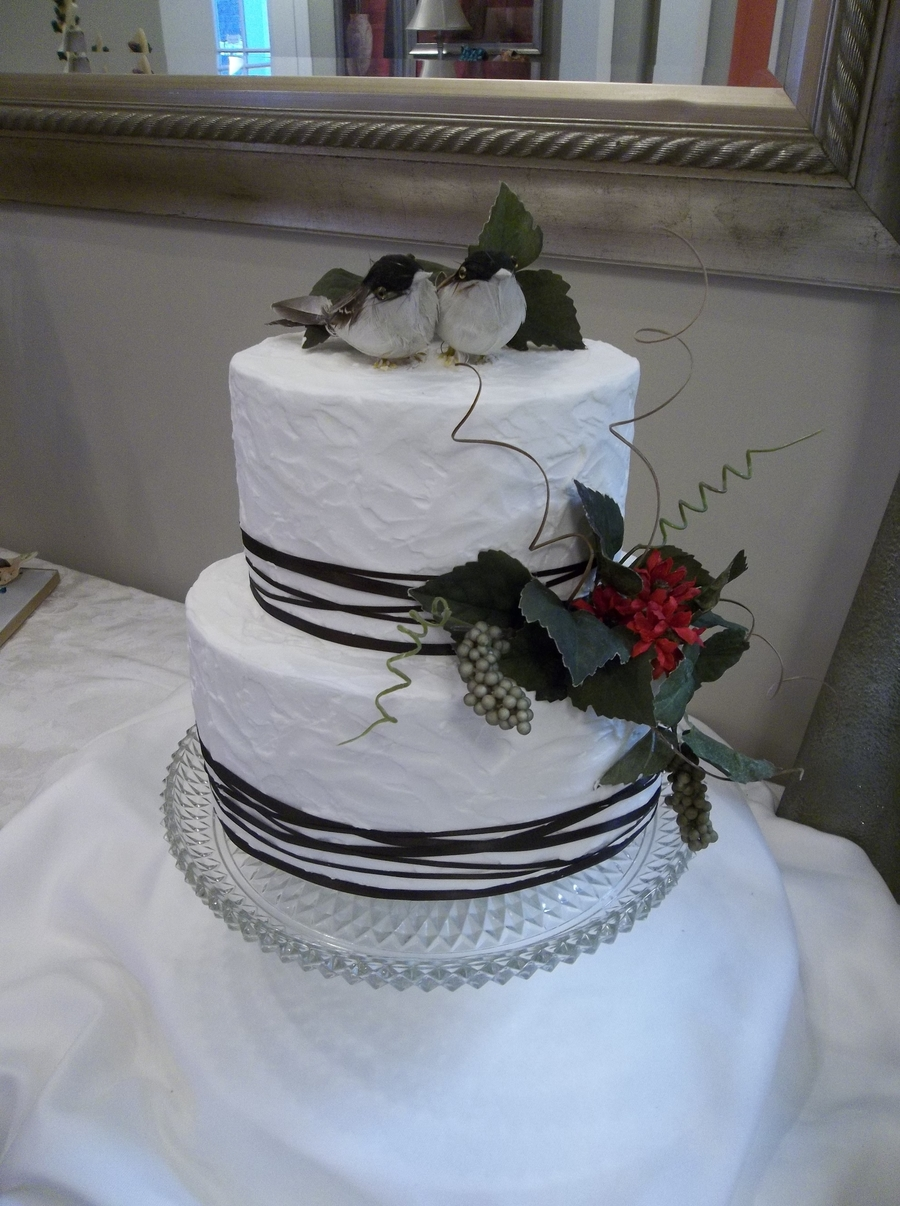 Nesting Love Birds! on Cake Central