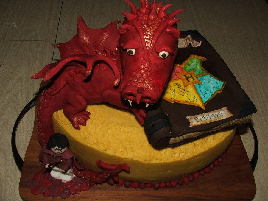 Harry Potter Legodragon Cake Cakecentral Com