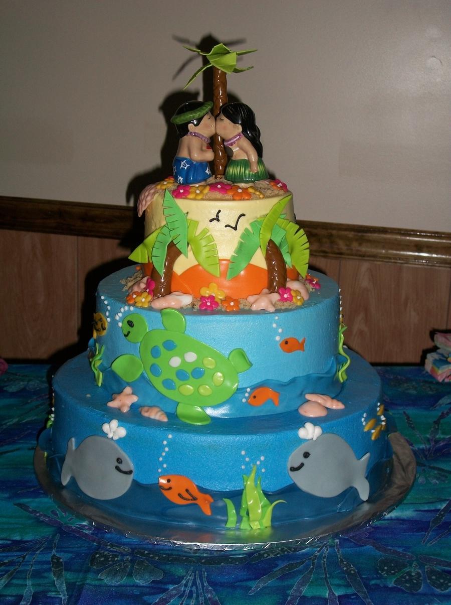 Hawaiian Wedding Cake.Hawaiian Wedding Cake Cakecentral Com