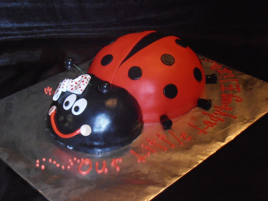 Baby Shower Ladybug  on Cake Central