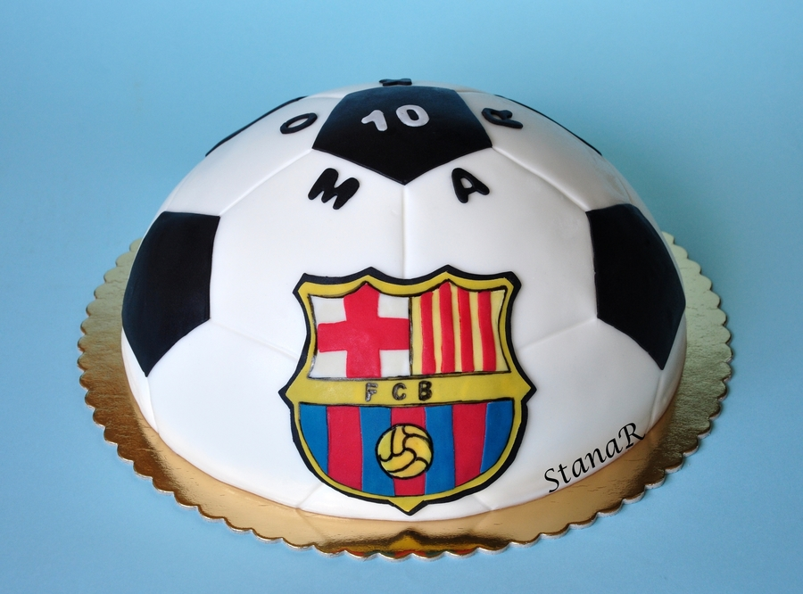 Fcbarcelona Cake on Cake Central