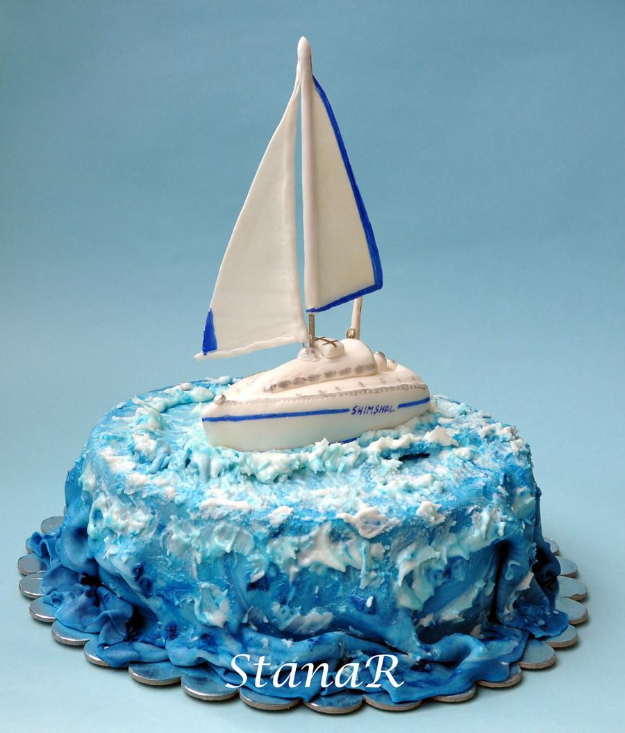 Sailboat Cake Recipe