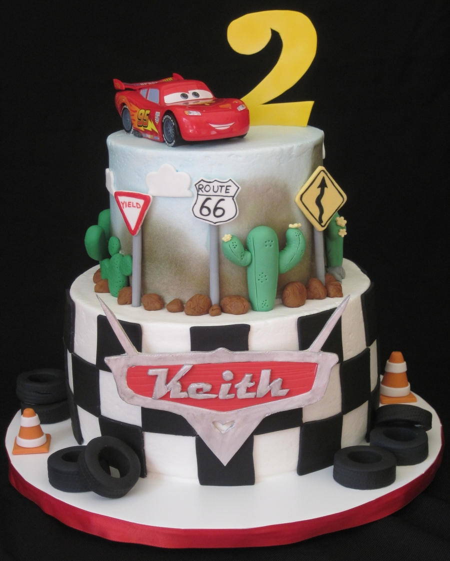 Keith's Cars Cake on Cake Central