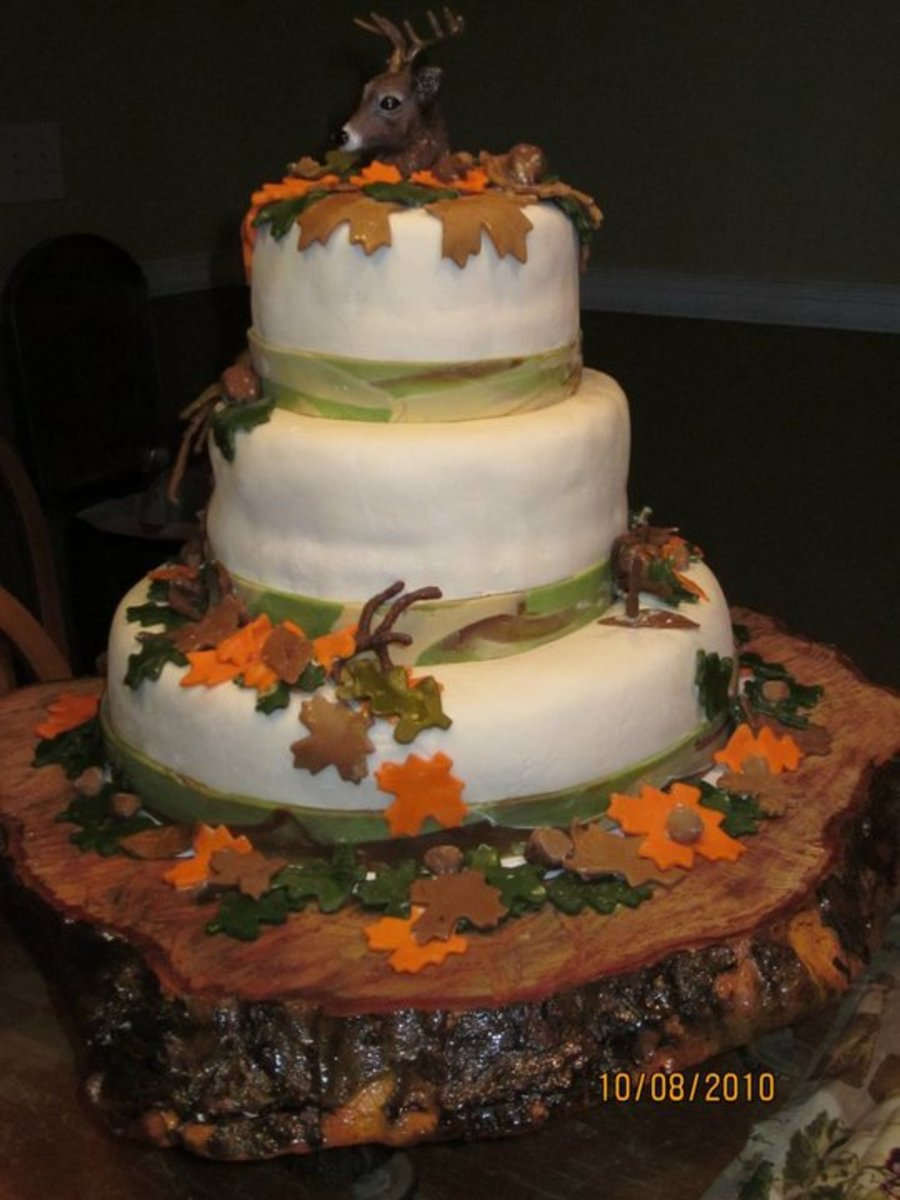Deer Hunter S 40th Birthday Cake Cakecentral Com