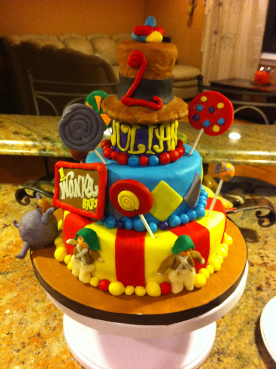 Willy Wonka Cake on Cake Central