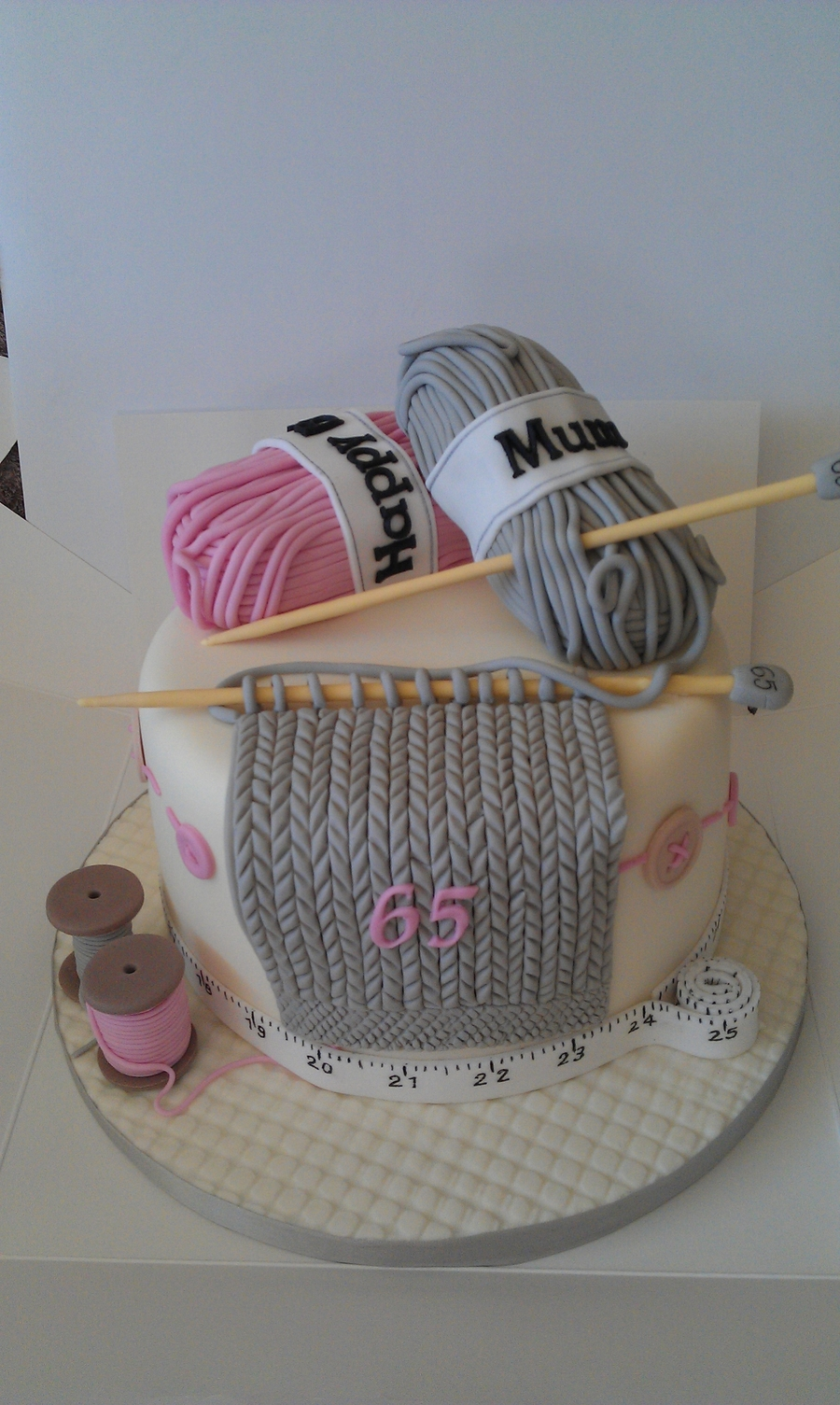 Knitting on Cake Central