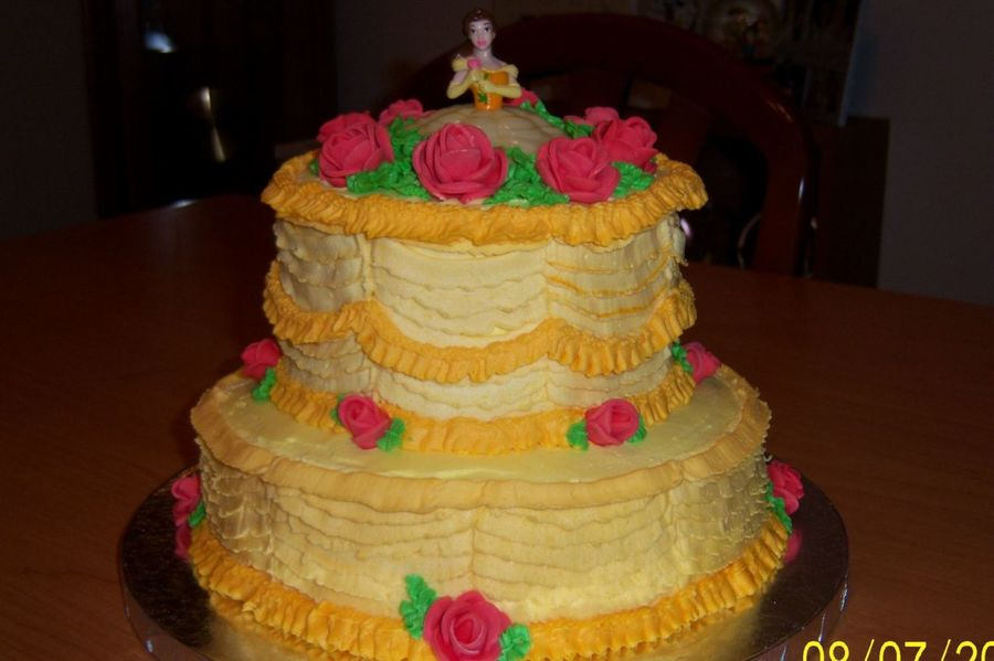 how to make a belle cake