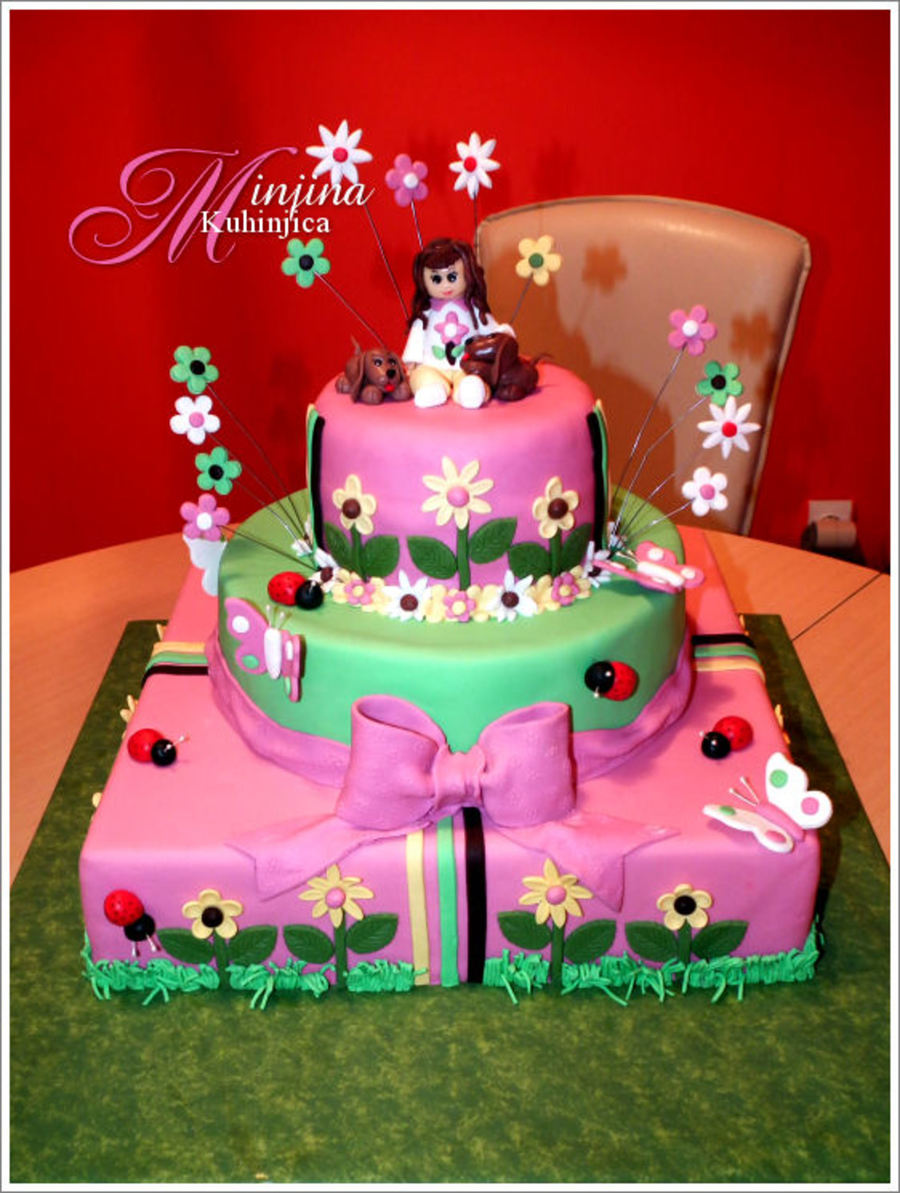 Super My Daughters 5Th Birthday Cake Cakecentral Com Funny Birthday Cards Online Alyptdamsfinfo